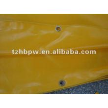 2013 venda quente e PVC de alta qualidade revestido Tarpaulin tecido para cobertura de caminhão