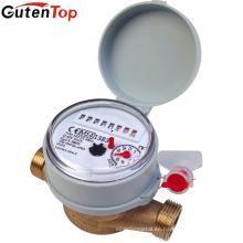 Proveedor de Gutentop Contador de agua del cuerpo del latón del jet multi para la agua fría