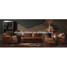 Vintage-Stil Wohnzimmer Sofa Set Möbel A632