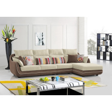 Canapé d'angle de tissu de meuble de salon