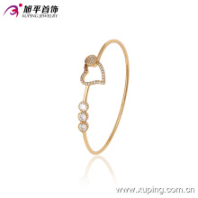51392 Xuping Fashion Woman heart shaped Bangle with Good Design For Women Gifts