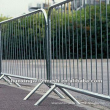 Barreiras de Construção Temporária Galvanizadas