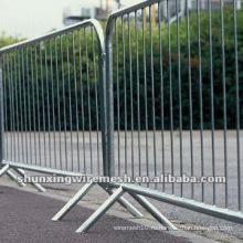 Гальванизированные временные строительные барьеры