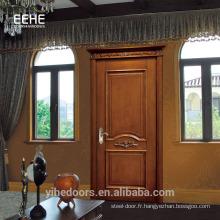 Porte en bois massif de haute qualité à prix d'usine en Malaisie