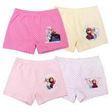 En Stock Verano Anna Elsa Kids Underwear 100 algodón mezclado ropa interior de las bragas de las muchachas coloridas para 2-10 años