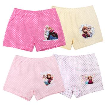 Auf Lager Sommer Anna Elsa Kinder Unterwäsche 100 Baumwolle Mix Farbige Mädchen Schlüpfer Unterwäsche für 2-10 Jahre alt