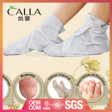 2017 most popular milky foot mask spa with certificate
