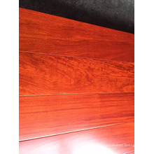 Suelo de madera de ingeniería Balsamo laqueado UV plano (piso de madera Balsamo
