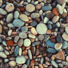 China calçadão barato preço cobblestone branco lustrado