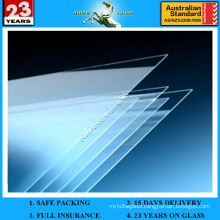 1 Inch Thick Glaverbel Glass 4mm 5mm 6mm 8mm 10mm 12mm Colored Glass Sheets