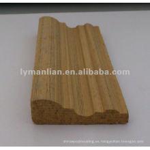 Molduras decorativas de madera de teca
