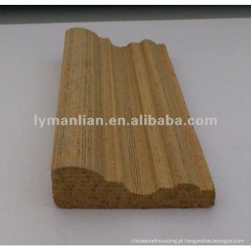 molduras de madeira teca decorativas