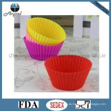 Mittelgroße Kuchen-Werkzeug-Silikon-Muffin-Form Sc01 (M)