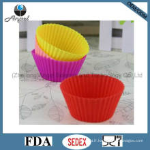 Medium Size Cake Tool Silicone Muffin Mold Sc01 (M)