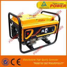 sistema de generador de gasolina pequeño 2 kva 6.5hp