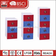 Classique boîte romantique de /Import/Storage cabinet de tiroir en plastique de Style européen