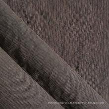 Oxford 420d Crinkle Tissu en nylon lavé en pierre avec PU / PVC (XQ-154)