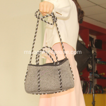 Beg Beg Neoprena Grey Perforated For Ladies Ladies