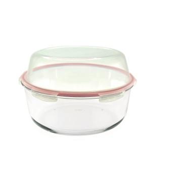 Round Shape Glass Lunch Box