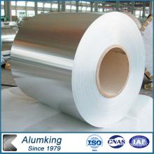 Feuillet en aluminium avec surface pré-stratifiée PE