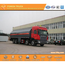 JAC 8x4 liquid chemical tanker truck Capacity 28000L