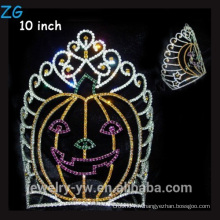 Colored Rhinestone Holiday Webant Halloween Crown