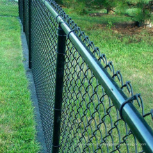 Wholesale 9 gauge customized chain link fence diamond wire mesh fence wire galvanized price