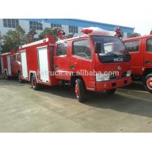 2015 alta qualidade caminhão de incêndio dongfeng 3ton, 4x2 especificações caminhão de bombeiros