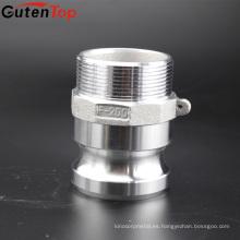 GutenTop 2 '' tipo Camlock de aluminio Camlock y ranura manguitos de acoplamiento de la manguera Kamlock