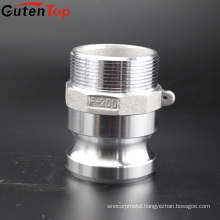 GutenTop 2'' Type F Aluminum Camlock Cam And Groove Coupling Hose Fittings Kamlock