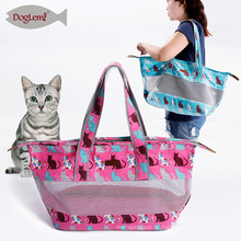 tragbare kleine Transportbox Cat Bag Designer Outdoor Umhängetasche