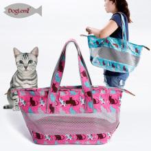 petit sac portatif d'épaule de concepteur de sac de chat de transporteur d'animal familier
