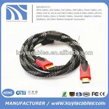 Transparentes blaues HDMI M zu M Kabel für HDTV 1.5m
