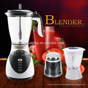 3 In 1 Best Quality Electric Multi-function Blender With 1.5L Plastic Jar With Chopper And Grinder
