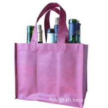 Non-Woven 6 Bottles Put in Shopping Bag