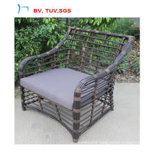 Hot Selling Round Rattan Leisure Garden Arm Chair (CF1447C)