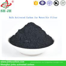 Carbón activado a granel para agua / filtro de aire