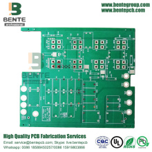 PCB de cobre grueso Matt Green 2Layers TG150