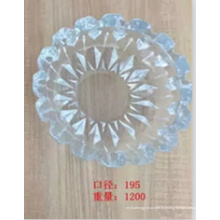 Cenicero de cristal redondo de alta calidad Kb-Hn07691