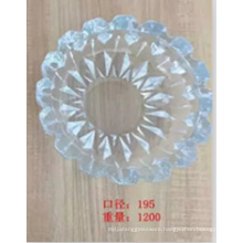 Round Crystal High Quality Glass Ashtray Kb-Hn07691
