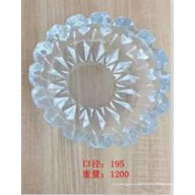 Стеклянная пепельница высокого качества с круглым кристаллом Kb-Hn07691