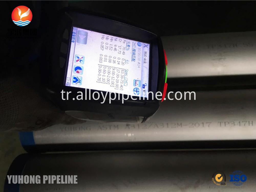 Astm A213 Tp347h Stainless Steel Seamless Tube