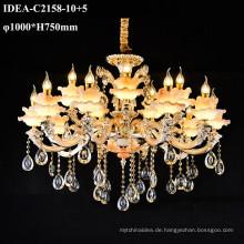 Großhandel Kerze Beleuchtung Kronleuchter Maria Theresa