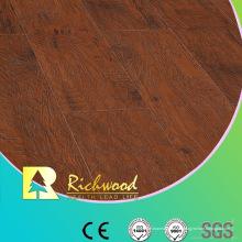 12.3 mm en relieve Hickory encerado con bordes pisos Lamianted