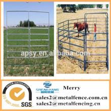 Menor preço poste de metal curral cerca de cavalo canetas portátil gado fazenda cerca painel