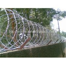 alambre de concertina para la venta / alambre de púas de púas / alambre de púas de acordeón
