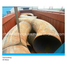 A860 Wphy52 3D Carbon Steel Bend Elbow sans tangente