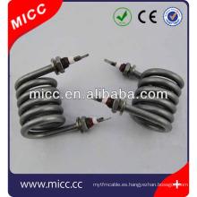 Calentador tubular eléctrico aprobado de la bobina y del CE