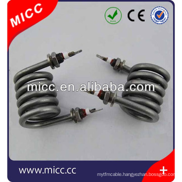 CE approved electrical spiral and coil tubular heater
