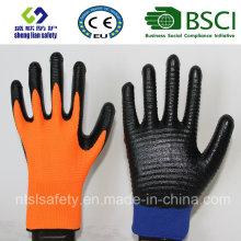 13Г полиэфира оболочки Нитрила покрытием перчатки (сл-N119 (1))